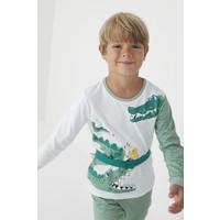 Penti Çok Renkli Erkek Çocuk Croco 2li Pijama Takım