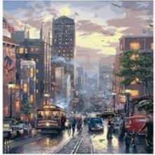 Art Liva Sayılarla Boyama Hobi Seti Tuvalli 40X50 cm New York