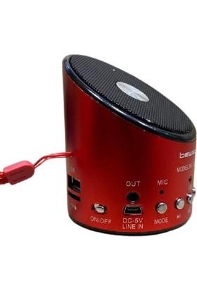 Bewell Speaker Micro Sd Kart Girişli Mini Taşınabilir Speaker Hoparlör Bs-08