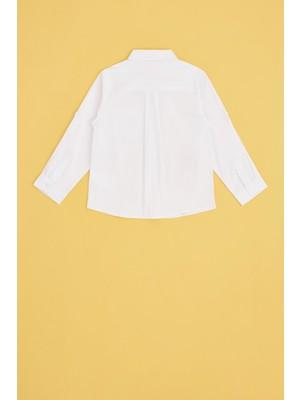 B&G Store Erkek Bebek Beyaz Gömlek