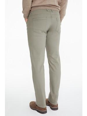 Hatemoğlu Çağla Regular Fit Kanvas Pantolon