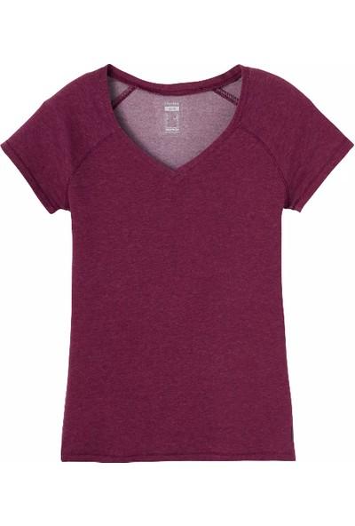 Nyamba Kadın Mor Tişört - Slim - 500 Nyamba Pazarist