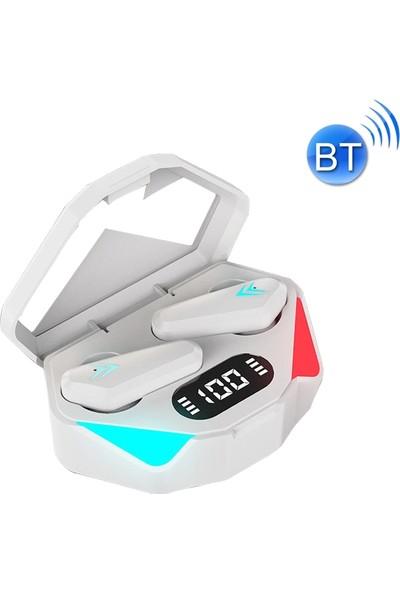 Sunsky TWS-Y04 Tws Bluetooth Oyun Kulaklık - Beyaz (Yurt Dışından)