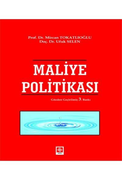 Maliye Politikası - Mircan Tokatlıoğlu