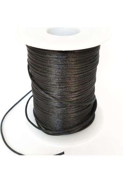 Nimiel 10 Metre Siyah Floş Takı Ipi