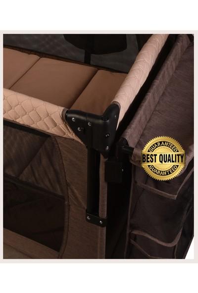 Holmer Maxi Comfort Coolstyle Anne Yanı Deluxe Kumaş Cibinlikli Oyun Parkı 70x110cm