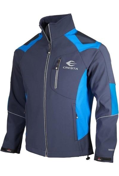 Cresta Reflektör Baskılı Su ve Rüzgar Geçirmez Softshell Ceket
