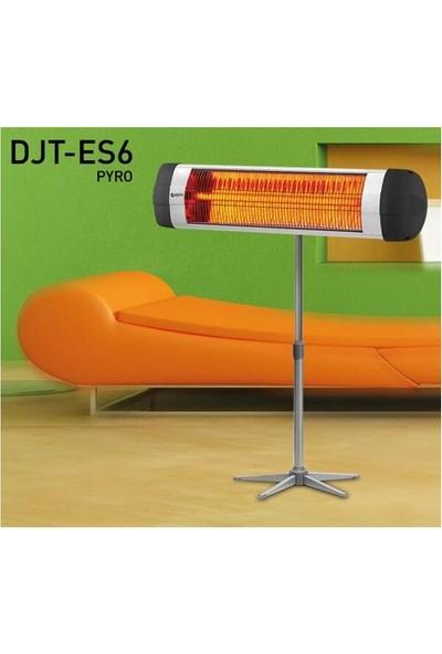 Dijitsu Es6 Pyro 2500 W Devrilme Emliyetli Ayaklı Infrared Isıtıcı