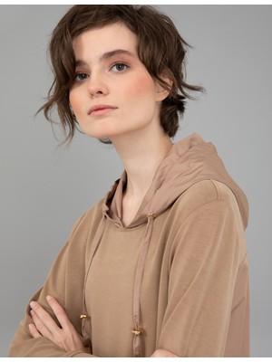 Pierre Cardin Kahverengi Regular Fit Sweatshirt 50244951-VR029