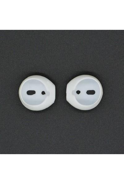 Prettyia 1 Çift Apple AirPods EarPods Uyumlu Kulaklık Silikonu Sabitleyici (Yurt Dışından)