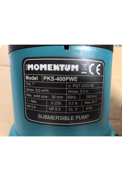 Momentum PKS-400PWE Plastik Gövdeli Drenaj Temiz Su Pis Su
