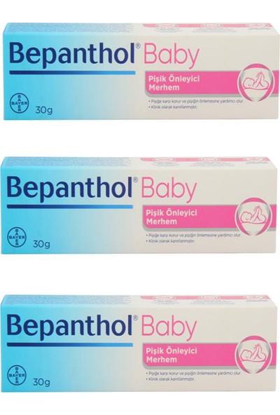 Bepanthol Baby Pişik Kremi 30 gr 3 Adet
