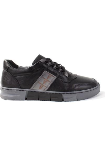 Paletto 061 Siyah Günlük Deri Erkek Ayakkabı