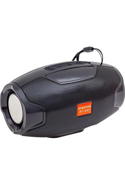Everton USB SD Kart Destekli FM Radyo El Fenerli Şarjlı Taşınabilir Bluetooth Hoparlör Müzik Mp3 Çalar RT-893