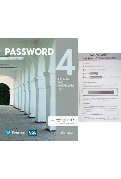 Pearson Education Yayıncılık Password 4 With Myenglishlab
