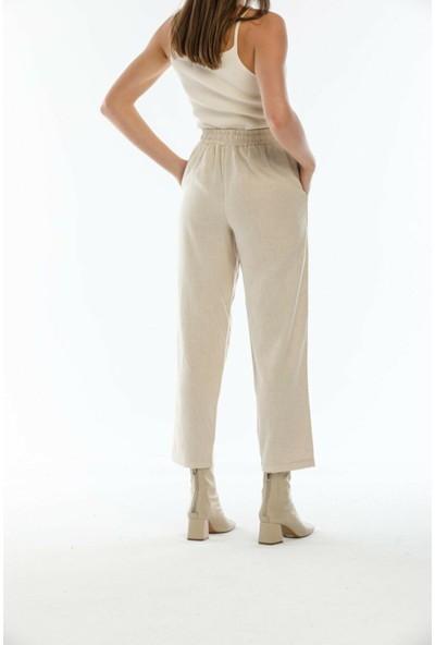 Orfeonegro Keten Kumaş Pantolon