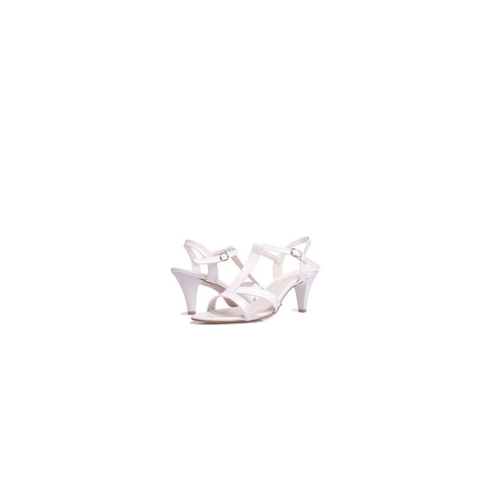 Loggalin 580005 031 468 Beyaz Kadın Sandalet