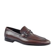 Cabani Kemerli Klasik Erkek Ayakkabı Kahve Deri