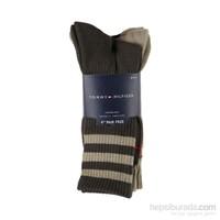 Tommy Hilfiger 3' Lü Erkek Çorap