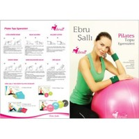 Ebruli Anti burst 55 Pilates Topu