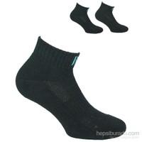 Norfolk Erkek 2'Li Spor Çorap Siyah