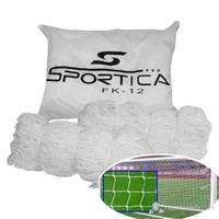 Sportica Futbol Kale Ağı Seti Çantalı FK12