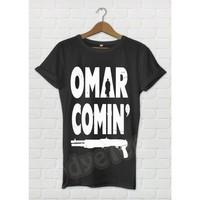 Dyetee Omar Coming The Wire Erkek T-Shirt