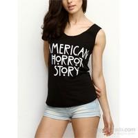 Köstebek American Horror Story Kadın T-Shirt