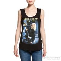 Köstebek Kurt Cobain Kadın T-Shirt