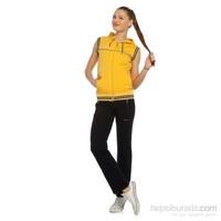 Coordinate 2336 Sarı Bayan Eşofman Takımı