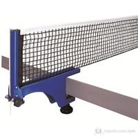 Delta Mavi Masa Tenisi Mengeneli Deluxe Pinpon Ağı File Demir Set