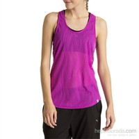 Puma Mesh İt Up Layer Tank Purple Cactus Flow Kadın Atlet