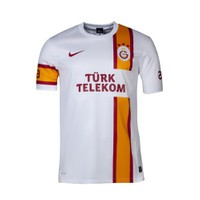 Galatasaray 2012/2013 Beyaz Taraftar Forması Kısa Kol
