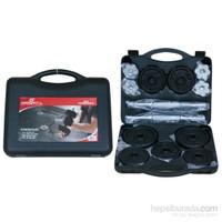 Sportica 20 kg Siyah Döküm Çanta Set