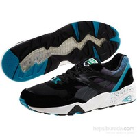 Puma R698 Splatter Unisex Siyah Spor Ayakkabı (358628-01)