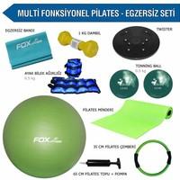 Fox Fitness Multi Fonksiyonel Pilates - Egzersiz Seti