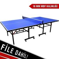 Mitsuka Champion 18 mm Masa Tenis Masası & File