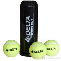 Delta 3 Lü Vakumlu Tüpte Tenis Topu - Dtb 9325