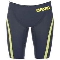 Arena Carbon Flex Steel/Green Jammer Erkek Yarış Mayosu