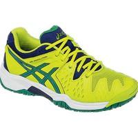 Asics Gel Resolution 6 Gs Lime/Pine Tenis Ayakkabısı