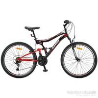 Ümit 24J ALBATROS 2457 ERKEK Dağ Bisikleti Çelik Kadro Çift Süspansiyon - V-FREN 21-V