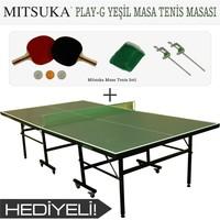 Mitsuka Play-G Yeşil Masa Tenis Masası