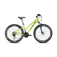 "Kron Xc 150 Lady 26 Jant 15"" 21 Vites V-Fren Lime Mavi - Beyaz Dağ Bisikleti"