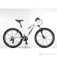 Salcano Astro Lady V 16'' Beyaz kırmızı siyah Bisiklet