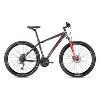 """Kron Xc 500 29 Jant 20"""" 27 Vites Fren Siyah - Kırmızı - Beyaz Dağ Bisikleti"""