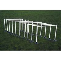 Spin Antreman Zıplama Engelli Set 10'lu - 15 cm (Kauçuk Tabanlı)