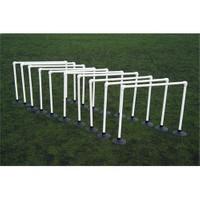 Spin Antreman Zıplama Engelli Set 10'lu - 30 cm (Kauçuk Tabanlı)