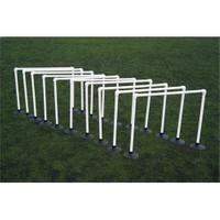 Spin Antreman Zıplama Engelli Set 10'lu - 70 cm (Kauçuk Tabanlı)