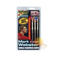 Winmau 1070-Mark Webster 90% Tungsteng Çelik Uçlu Dart (profesyonel Seviye)