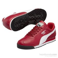 Puma Roma Basic Erkek Kırmızı Spor Ayakkabı (353572-42)